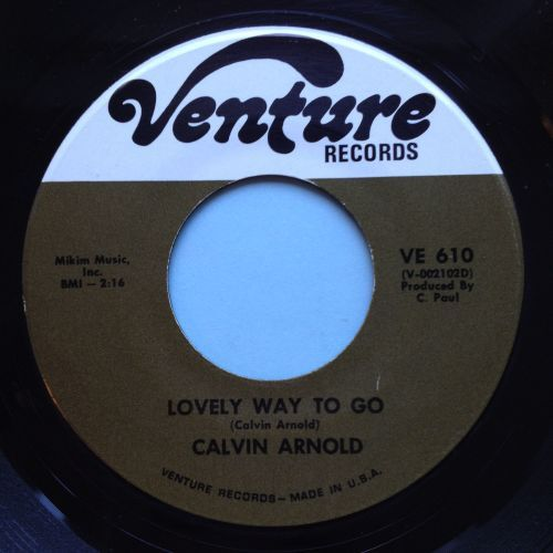 Calvin Arnold - Lovely way to go - Venture - VG+ (slight dish - nap)
