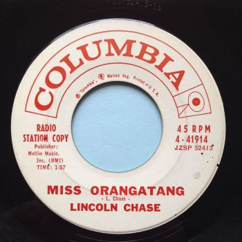 Lincoln Chase - Miss Orangatang - Columbia promo - Ex