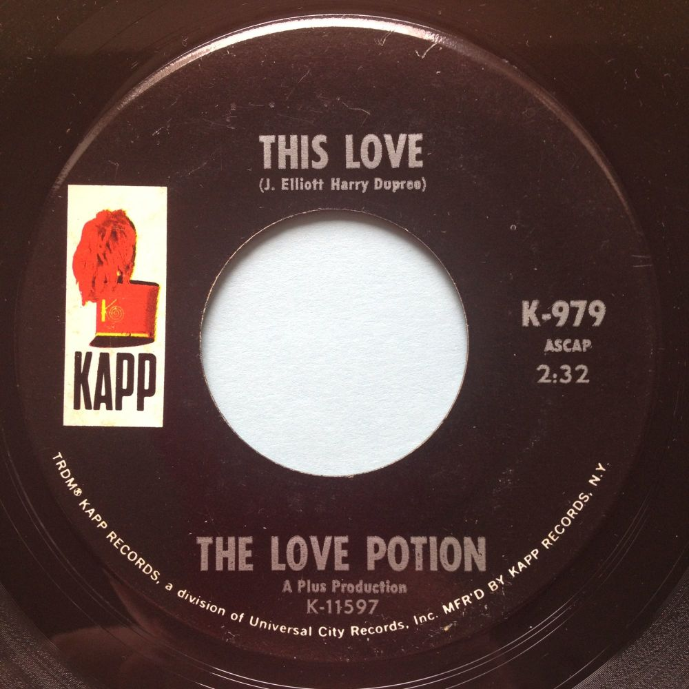 Love Potion - This Love - Kapp - Ex