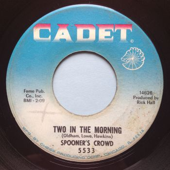 Spooners Crowd - Two in the morning - Cadet - VG+