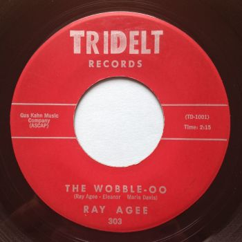 Ray Agee - The Wobble-oo - Tridelt - Ex