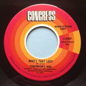 Tomorrow's Men - Who's that lady - Congress - Ex