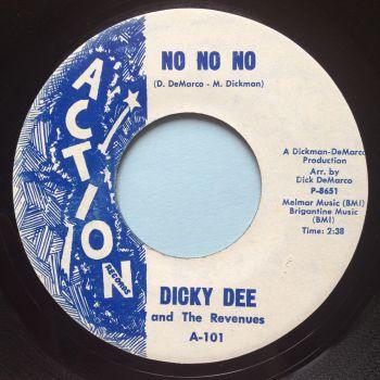 Dicky Dee - No No No - Action - Ex