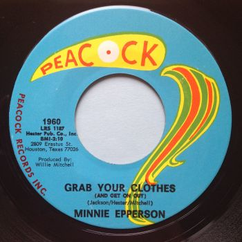 Minnie Epperson - Grab your clothes - Peacock - Ex