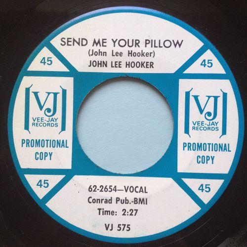John Lee Hooker - Send me your pillow - Vee Jay - Ex