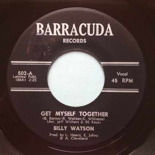Billy Watson - Get myself together - Barracuda - Ex-