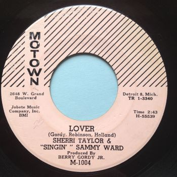 Sherri Taylor & Singin Sammy Ward - Lover - Motown - Ex