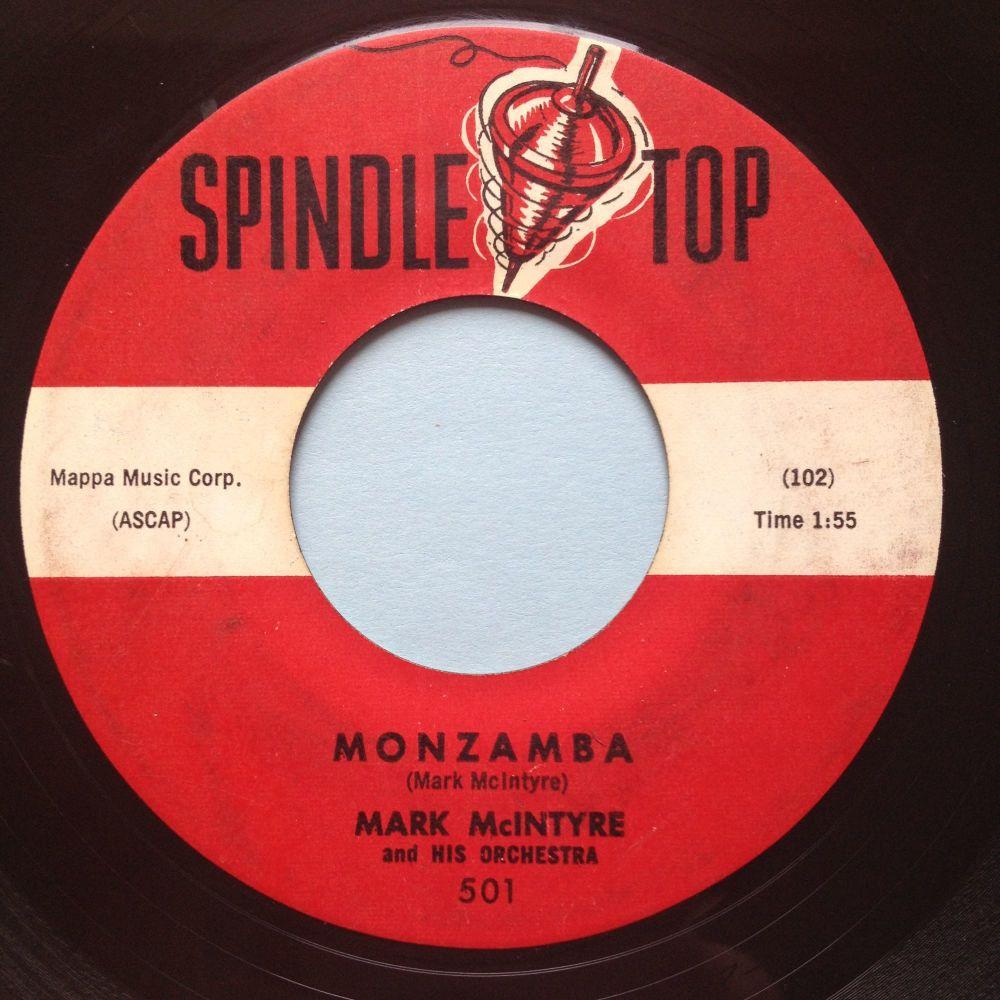 Mark Mcintyre - Monzamba - Spindle Top - VG+