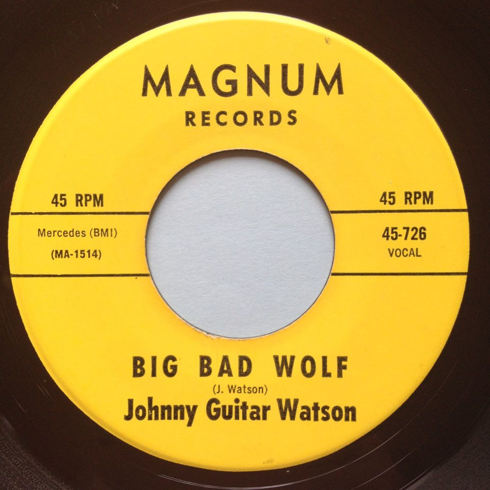 Johnny Guitar Watson - Big Bad Wolf - Magnum - Ex