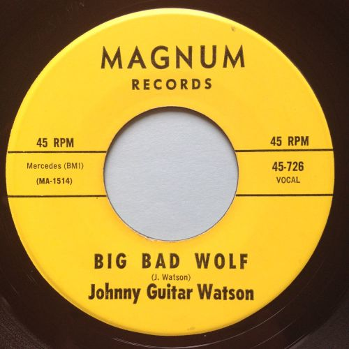 Johnny Guitar Watson - Big Bad Wolf - Magnum - Ex