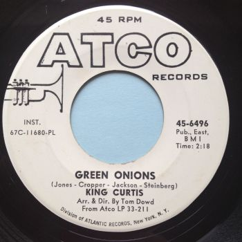 King Curtis - Green Onions - Atco promo - Ex