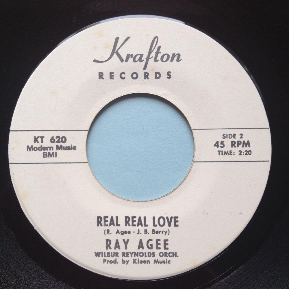 Ray Agee - Real Real Love - Krafton promo - Ex