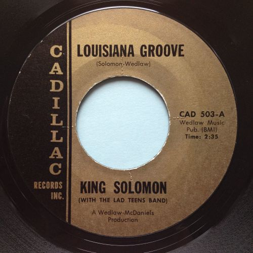 King Solomon - Louisiana Groove - Cadillac - Ex