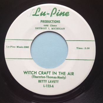 Betty Lavett - Witchcraft in the air - Lu-Pine - Ex