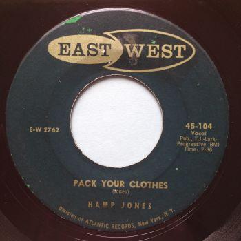 Hamp Jones - Pack your clothes - East West - Ex-