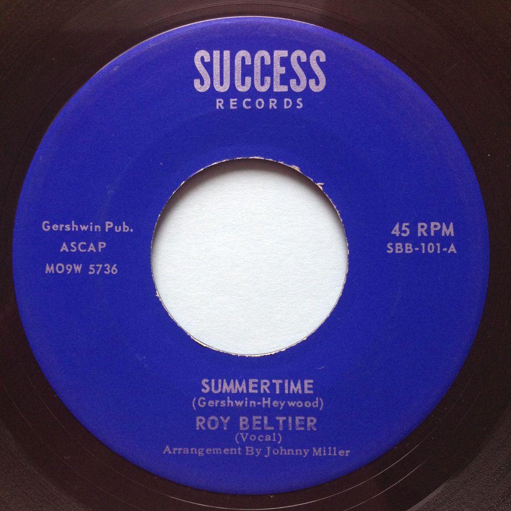 Roy Beltier - Summertime - Success - Ex (slight dish, nap)