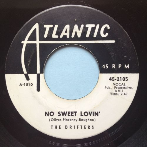 Drifters - No sweet lovin' - Atlantic promo - Ex-