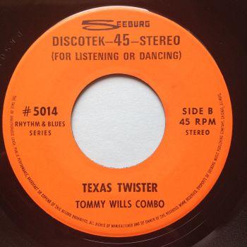 Tommy Wills Combo - Texas Twister - Seeburg Discotek - Ex