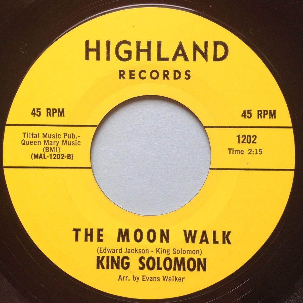 King Solomon - Moon walk - Highland - Ex