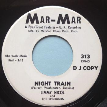 Jimmy Nicol - Night Train - Mar-Mar promo - Ex