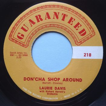Laurie Davis - Don'cha shop around - Guaranteed - Ex