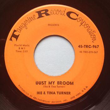 Ike and Tina Turner - Dust my broom - Tangerine - Ex