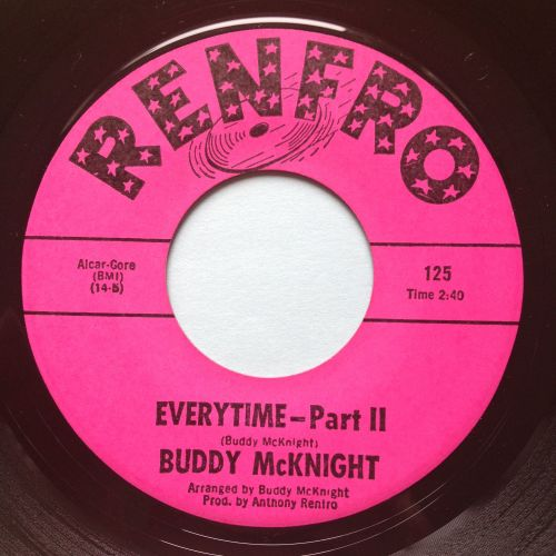 Buddy McKnight - Everytime Pt 2 - Renfro - Ex