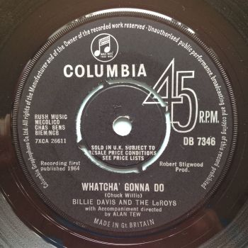 Billie Davis - What'cha gonna do - UK Columbia - Ex