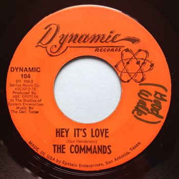 Commands - Hey it's love - Dynamic - Ex (wol)