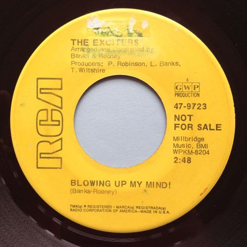 Exciters - Blowing up my mind - RCA - Ex-
