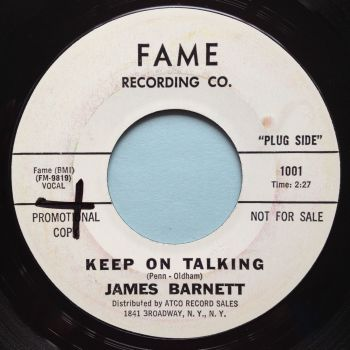 James Barnett - Keep on talking - Fame promo - Ex