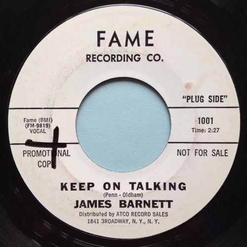 James Barnett - Keep on talking - Fame promo - Ex