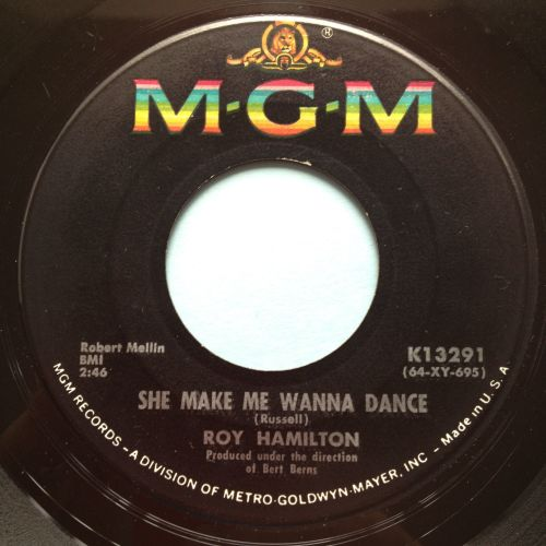 Roy Hamilton - She makes me wanna dance b/w You can count on me - MGM - Ex