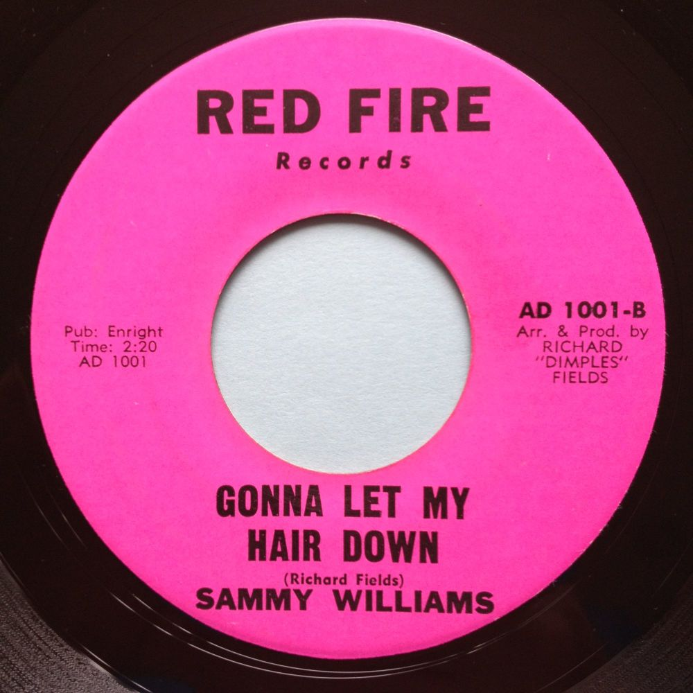 Sammy Williams - Gonna let my hair down - Red Fire - M-