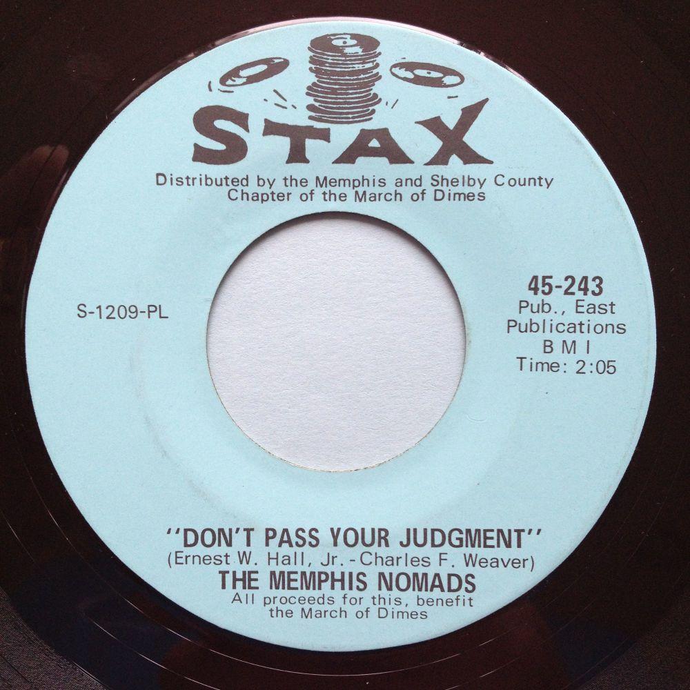 Memphis Nomads - Don't pass your judgement - Stax - Ex