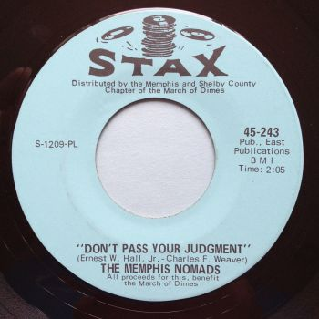 Memphis Nomads - Don't pass your judgement - Stax - Ex