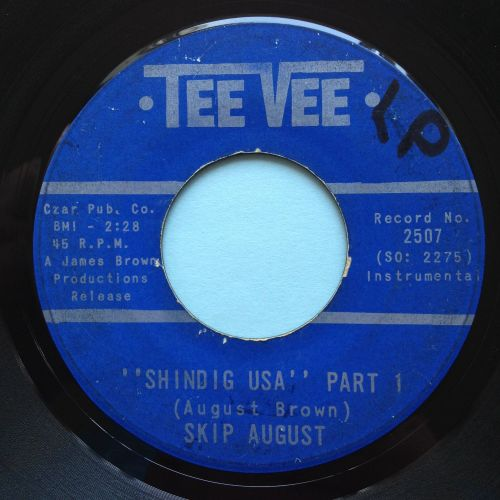 Skip August - Shindig USA - Tee Vee - VG+