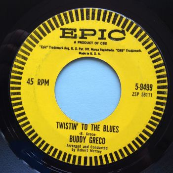 Buddy Greco - Twistin' to the blues - Epic - Ex