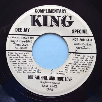 Earl King - Old faithful and true love - King bio - Ex