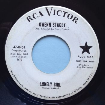 Gwenn Stacey - Lonely Girl - RCA promo - Ex-