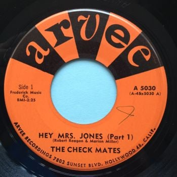 Check Mates - Hey Mrs Jones - Arvee - Ex