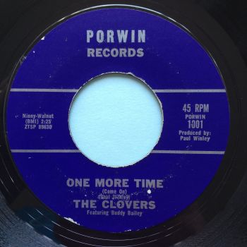 Clovers - One more time - Porwin - Ex