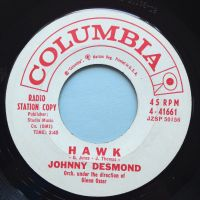 Johnny Desmond - Hawk - Columbia promo - Ex