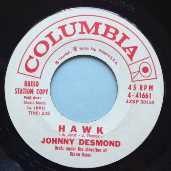 Johnny Desmond - Hawk - Columbia promo - Ex