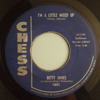 Betty James - I'm a little mixed up - Chess - VG+