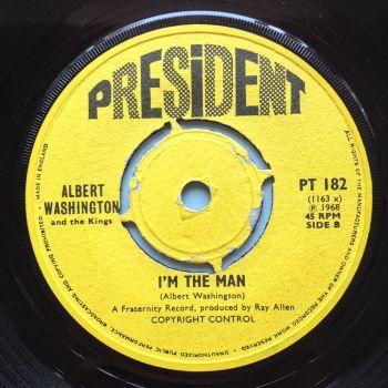 Albert Washington - I'm the man - UK President Demo - Ex
