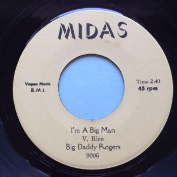 Big Daddy Rogers - I'm a big man - Midas - Ex-