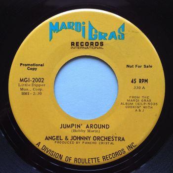 Angel & Johnny Orchestra - Jumpin' around - Mardi Gras - M-