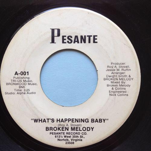 Broken Melody - What's happening baby - Pesante promo - Ex-