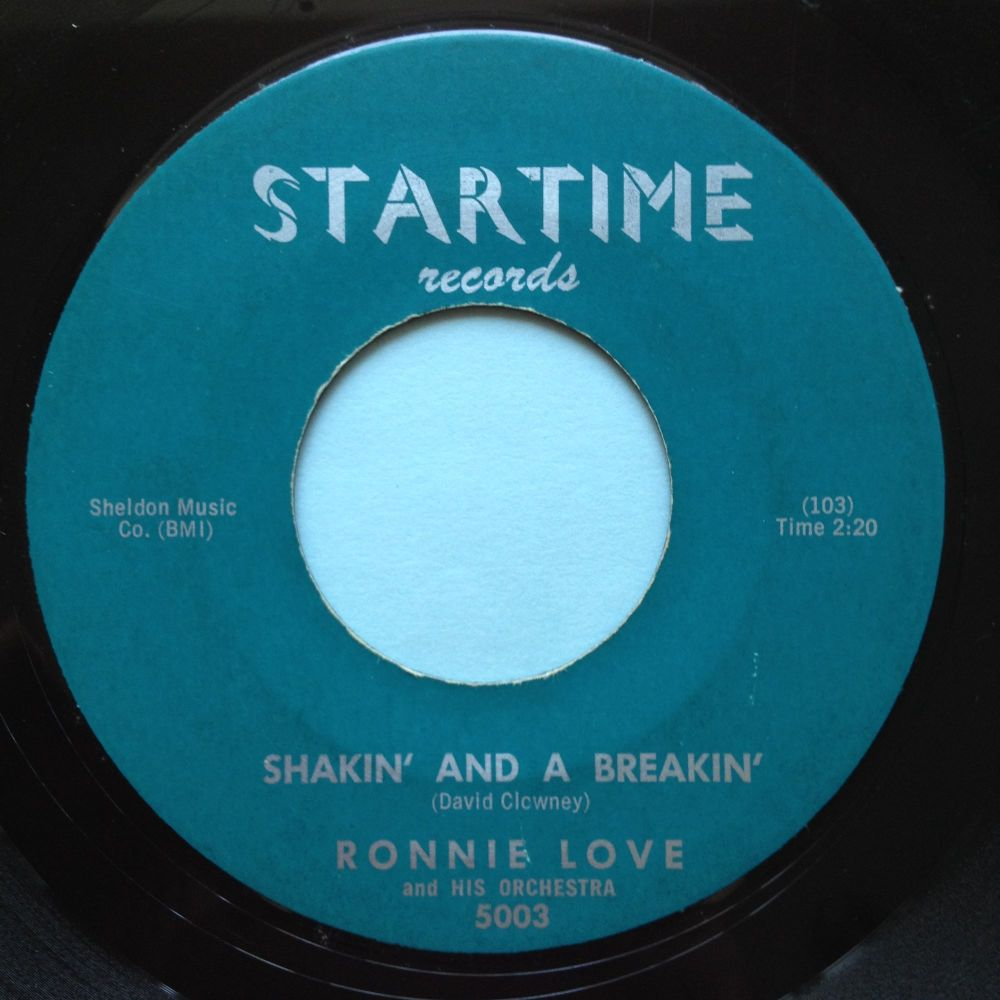 Ronnie Love - Shakin' and a breakin - Startime - VG+